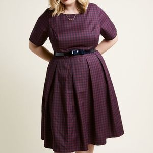 BNWT Retro Boatneck Dress w/Pockets